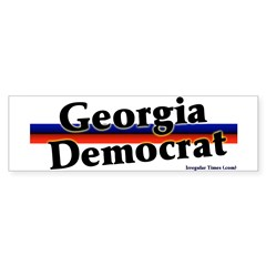 Georgia Democrat Bumper Bumper Sticker
