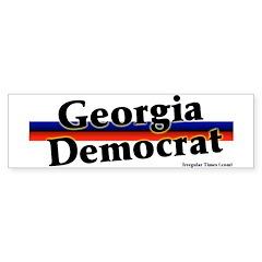 Georgia Democrat Bumper Bumper Sticker