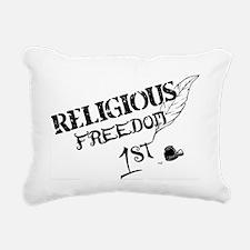ReligiousFreedom1st Rectangular Canvas Pillow