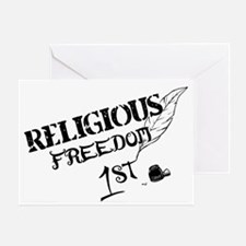 ReligiousFreedom1st Greeting Card