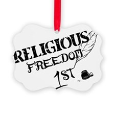ReligiousFreedom1st Ornament