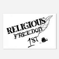 ReligiousFreedom1st Postcards (Package of 8)