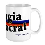 Georgia Democrat Large Coffee Mug