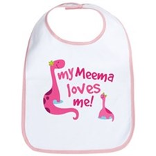My Meema Loves Me Bib