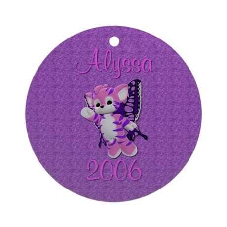 Alyssa 06 Ornament (Round)