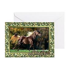 Paso Fino Horse Christmas Greeting Card
