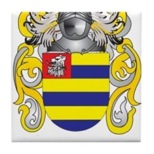 Coxe Coat of Arms Tile Coaster
