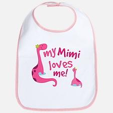 My Mimi Loves Me Bib