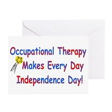 OT Independence Greeting Cards (Pk of 10)