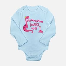 My Mommom Loves Me Long Sleeve Infant Bodysuit
