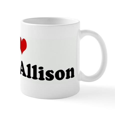 I Love Auntie Allison Mug