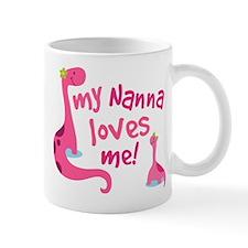 My Nanna Loves Me Mug
