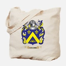 Crabbe Coat of Arms Tote Bag