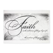 Faith is 5'x7'Area Rug