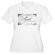 Faith is Plus Size T-Shirt