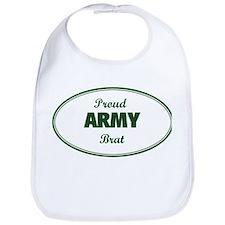 Proud Army Brat Bib