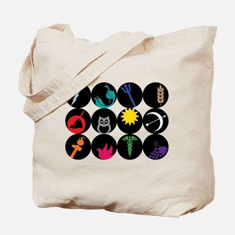 Greek Gods Tote Bag