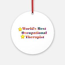 World's Best OT Ornament (Round)