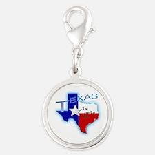 Texas Round Charms