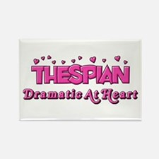 Thespian Hearts Rectangle Magnet (10 pack)