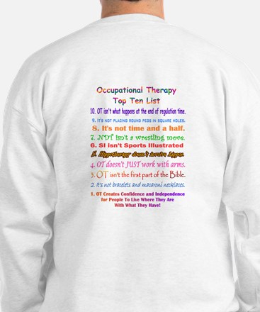 What is OT Top 10 Sweatshirt