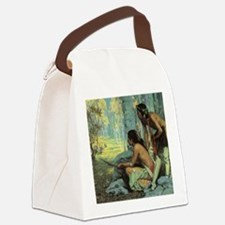 Taos Turkey Hunters by Couse Canvas Lunch Bag