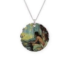 Taos Turkey Hunters by Couse Necklace
