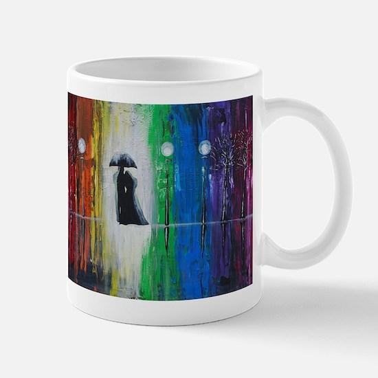 Prismatic Rain Romance Mug