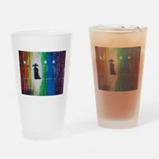 Prismatic Rain Romance Drinking Glass