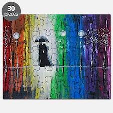 Prismatic Rain Romance Puzzle