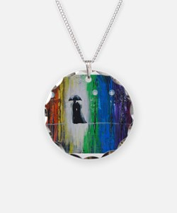 Prismatic Rain Romance Necklace