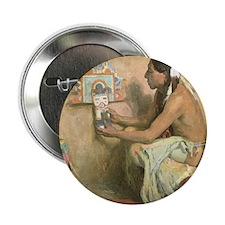 "Hopi Katchina by Couse 2.25"" Button"