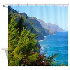 Kalalau Trail Kauai Hawaii Tropical Shower Curtain