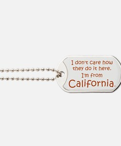 From California Dog Tags