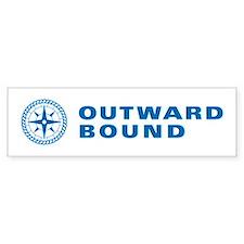 Outward Bound Blue Bumper Bumper Sticker