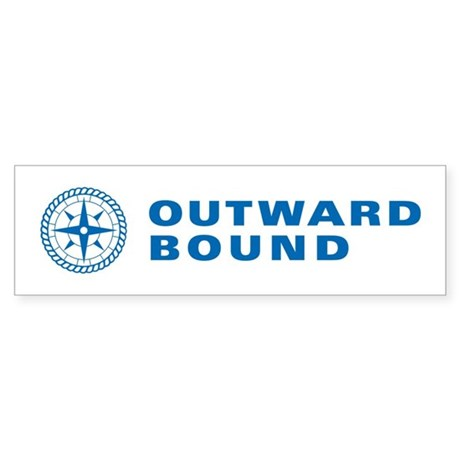 Outward Bound Blue Bumper Sticker
