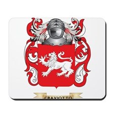 Craviotto Coat of Arms Mousepad