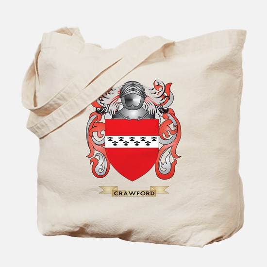 Crawford Coat of Arms Tote Bag