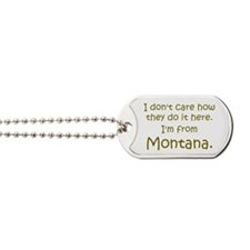 From Montana Dog Tags