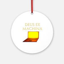 Dea Ex Machina Ornament (Round)