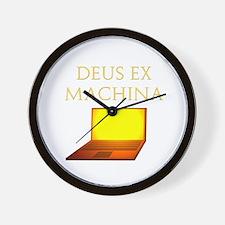 Dea Ex Machina Wall Clock