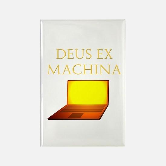 Dea Ex Machina Rectangle Magnet