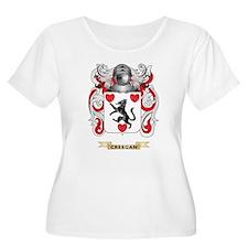 Creegan Coat of Arms Plus Size T-Shirt