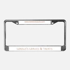 Cute Lorelei License Plate Frame