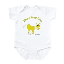 Cute Barn goddess Infant Bodysuit