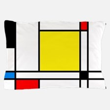 Mondrian Lines Pillow Case