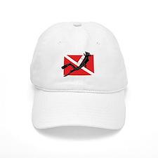 Girl SCUBA Diver Baseball Cap