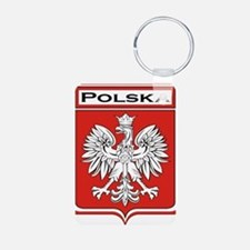 Polska Shield / Poland Shield Keychains