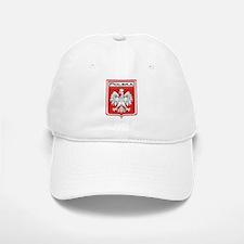 Polska Shield / Poland Shield Baseball Baseball Cap