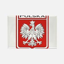 Polska Shield / Poland Shield Rectangle Magnet